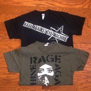Rage Against The Machine Band Tee Shirt Bundle